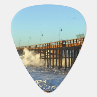 Ocean Wave Storm Pier Plectrum