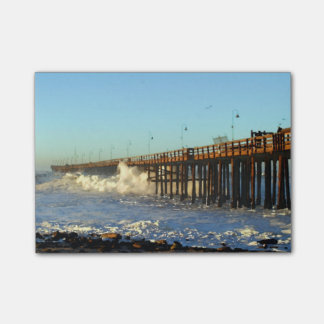Ocean Wave Storm Pier Post-it Notes