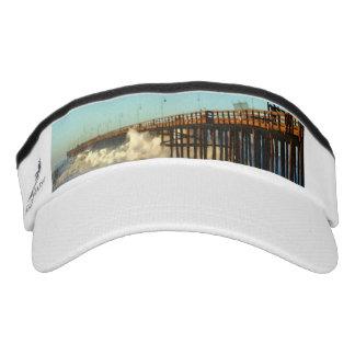 Ocean Wave Storm Pier Visor