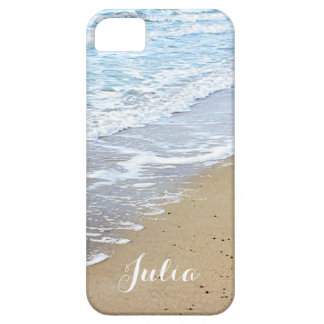 Ocean waves and beach iPhone 5 cover