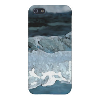 Ocean Waves at Night CricketDiane Seascape iPhone 5/5S Cover