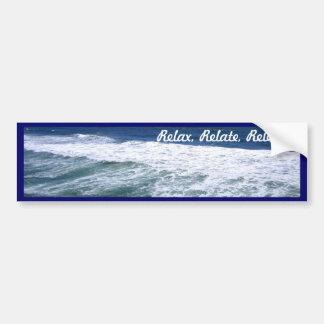 Ocean Waves_ Bumper Sticker