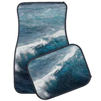 Ocean Waves Car Mat