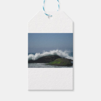 Ocean waves gift tags