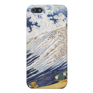 Ocean waves, Katsushika Hokusai iPhone 5/5S Covers