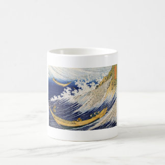 Ocean Waves Katsushika Hokusai masterpiece art Basic White Mug