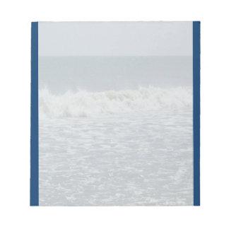 Ocean Waves Notepad