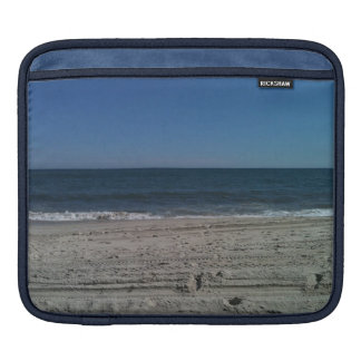 Ocean Waves on Beach Photo  iPad Case
