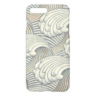 Ocean Waves Pattern Ancient Japan Art iPhone 7 Plus Case