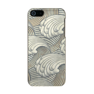 Ocean Waves Pattern Ancient Japan Art Incipio Feather® Shine iPhone 5 Case