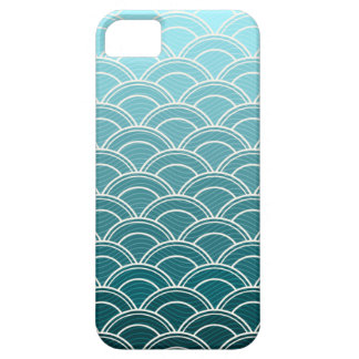 Ocean Waves Pattern iPhone 5 Case