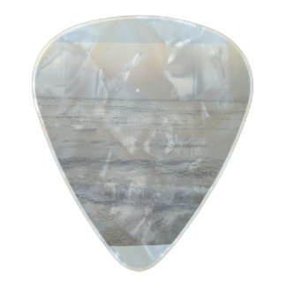 ocean waves pearl celluloid guitar pick