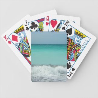 Ocean waves! poker deck