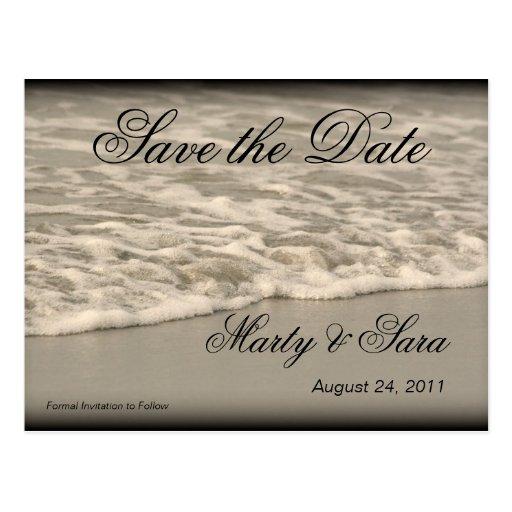Ocean Waves Post Card