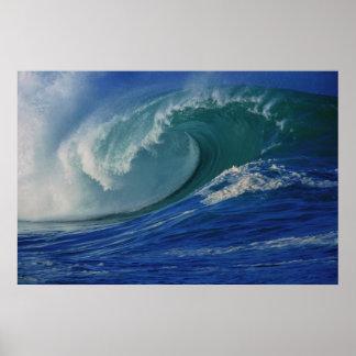 Ocean Waves Poster