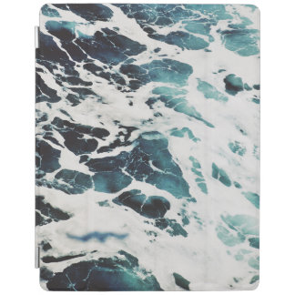 ocean waves sea beautiful blue water personalize iPad cover