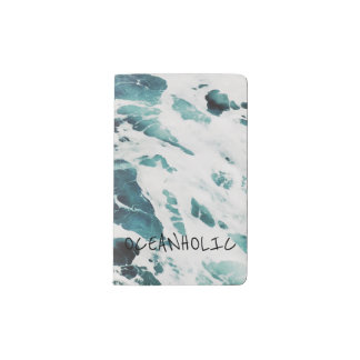 ocean waves sea nature quotes blue water notebook