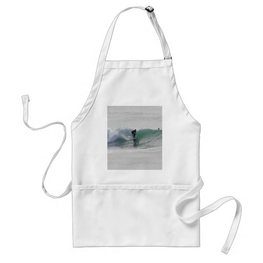 Ocean Waves Surfing Surfers Adult Apron