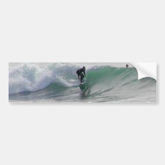 Ocean Waves Surfing Surfers Bumper Sticker