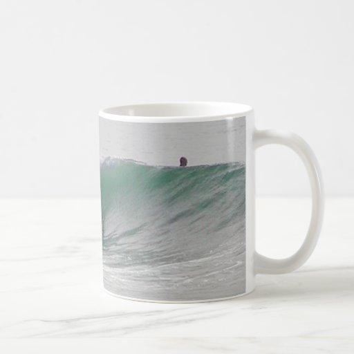 Ocean Waves Surfing Surfers Coffee Mugs