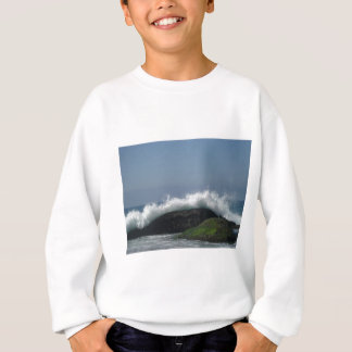 Ocean waves sweatshirt