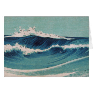 Ocean Waves -  Uehara Konen Card
