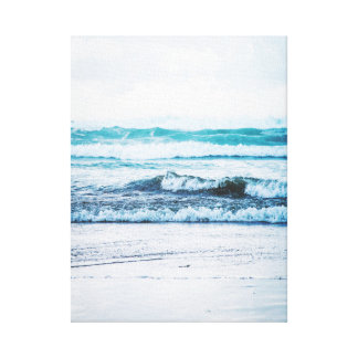 Ocean waves version 2 Photography Canvas