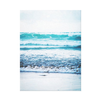 Ocean Waves version 3 Photography Canvas print