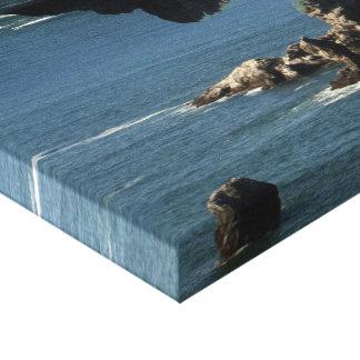 Ocean Wrap Canvas Print