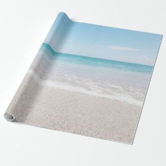 Ocean Wrapping Paper Beach Wedding Ocean I Light