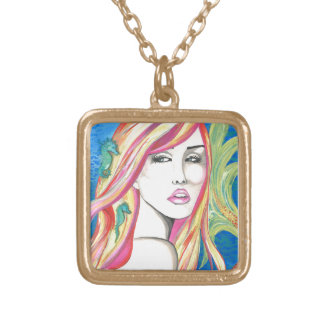 Oceania Gold Plated Necklace