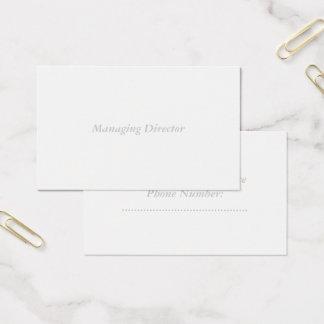 oceania standard matte business card