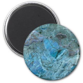 Oceania Teal & Blue Marble Magnet