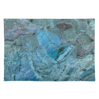 Oceania Teal & Blue Marble Placemat