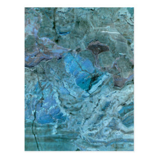 Oceania Teal & Blue Marble Postcard