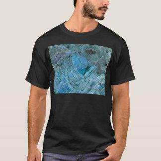 Oceania Teal & Blue Marble T-Shirt