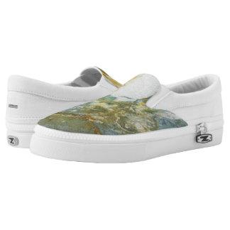 Oceanic Blues Slip-On Shoes