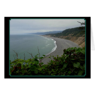 Oceans Curve Greeting Card
