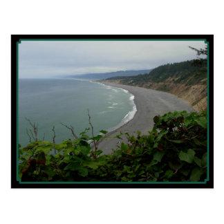 Oceans Curve Postcard