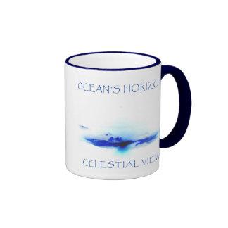 OCEAN'S HORIZON by CELESTIAL VIEW Coffee Mug