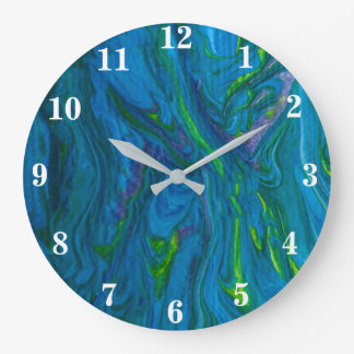 Oceans of Color Clock