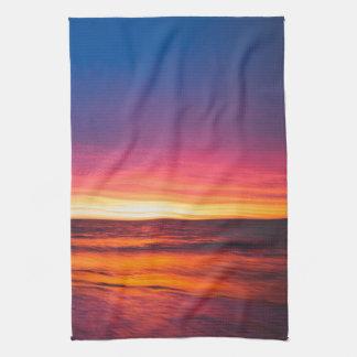 Oceans of the West Tea Towel