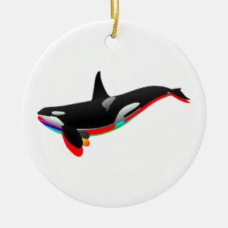 Oceans Pass Ceramic Ornament