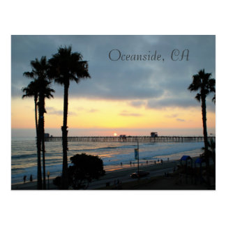 Oceanside, CA Postcard