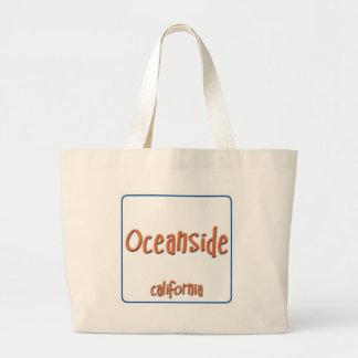 Oceanside California BlueBox Jumbo Tote Bag