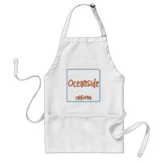 Oceanside California BlueBox Standard Apron