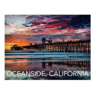 Oceanside, California Postcard