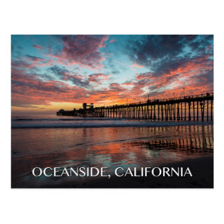 Oceanside California Postcard