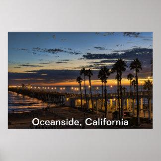 Oceanside, California Poster
