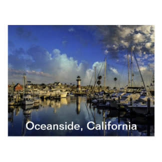 Oceanside Harbor Postcard